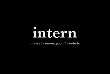 intern magazine | a Hyper Island project