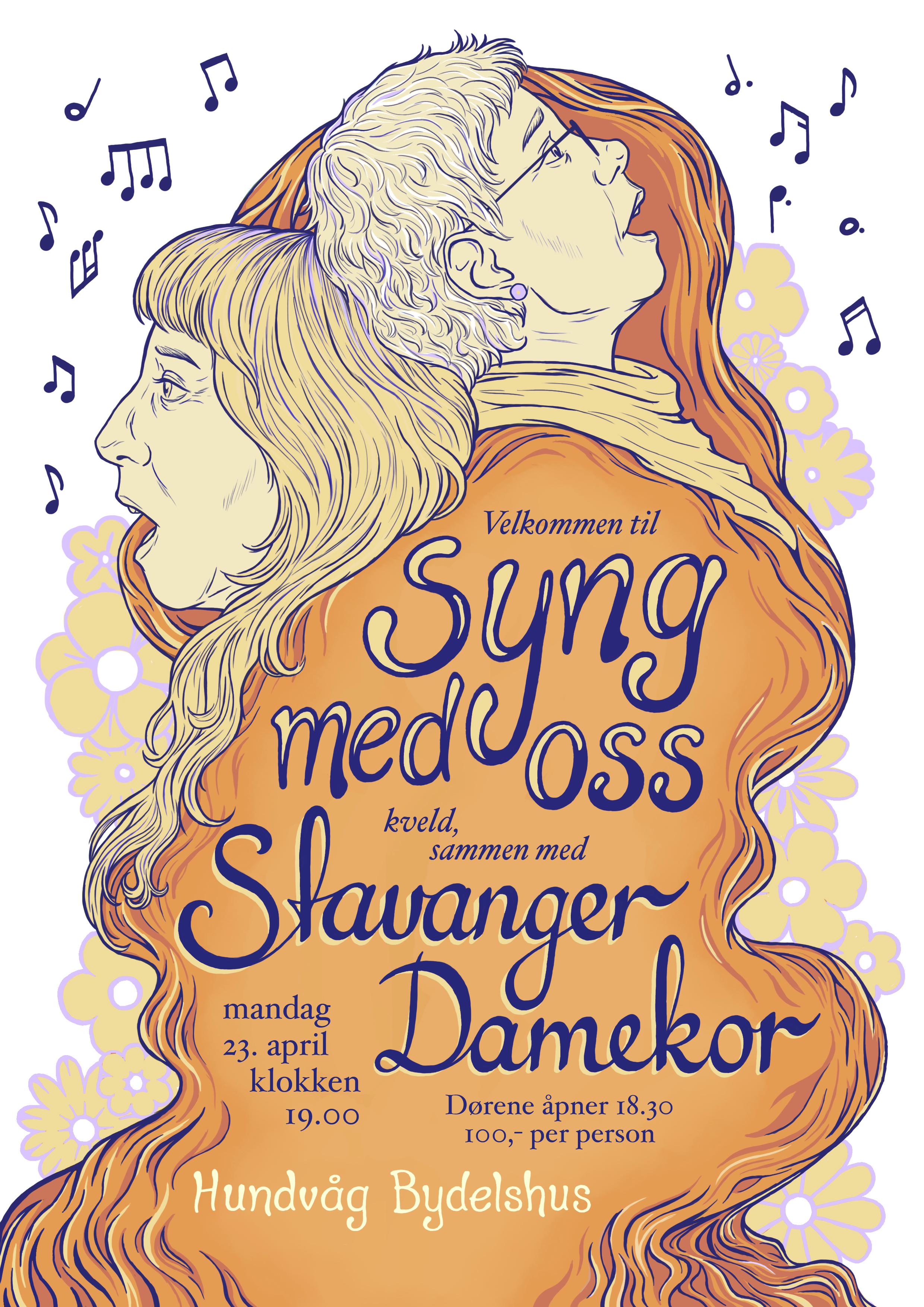 Stavanger Damekor poster